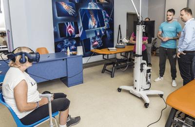 VR TierOne rehabilitation center Marconi