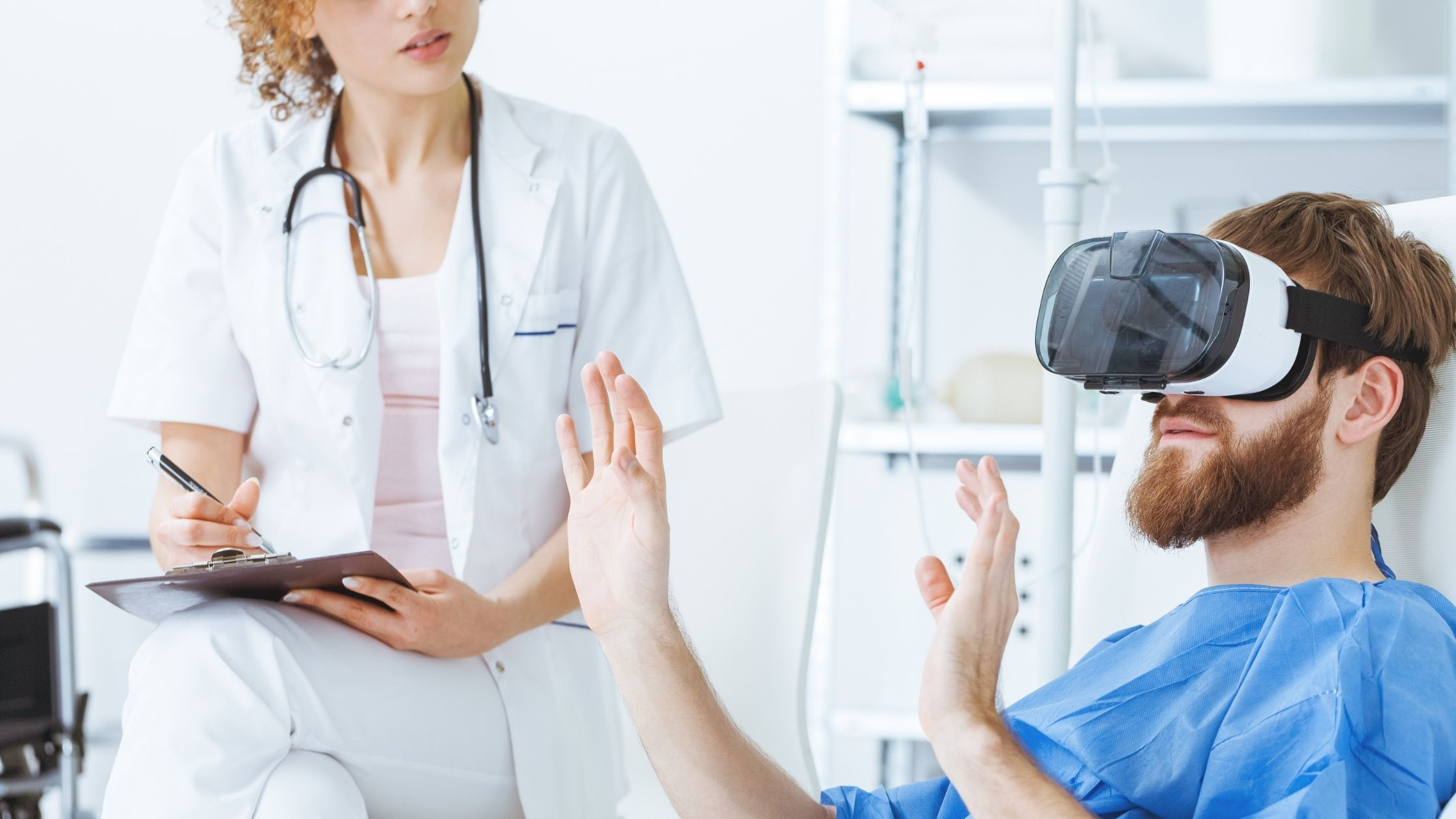 VR therapy - what is virtual reality in medicine