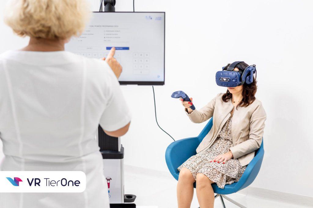 VR TierOne jako wsparcie w klinice leczącej skutki COVID-19