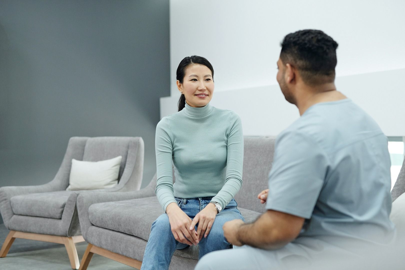 How communication with the patient impacts the healing process