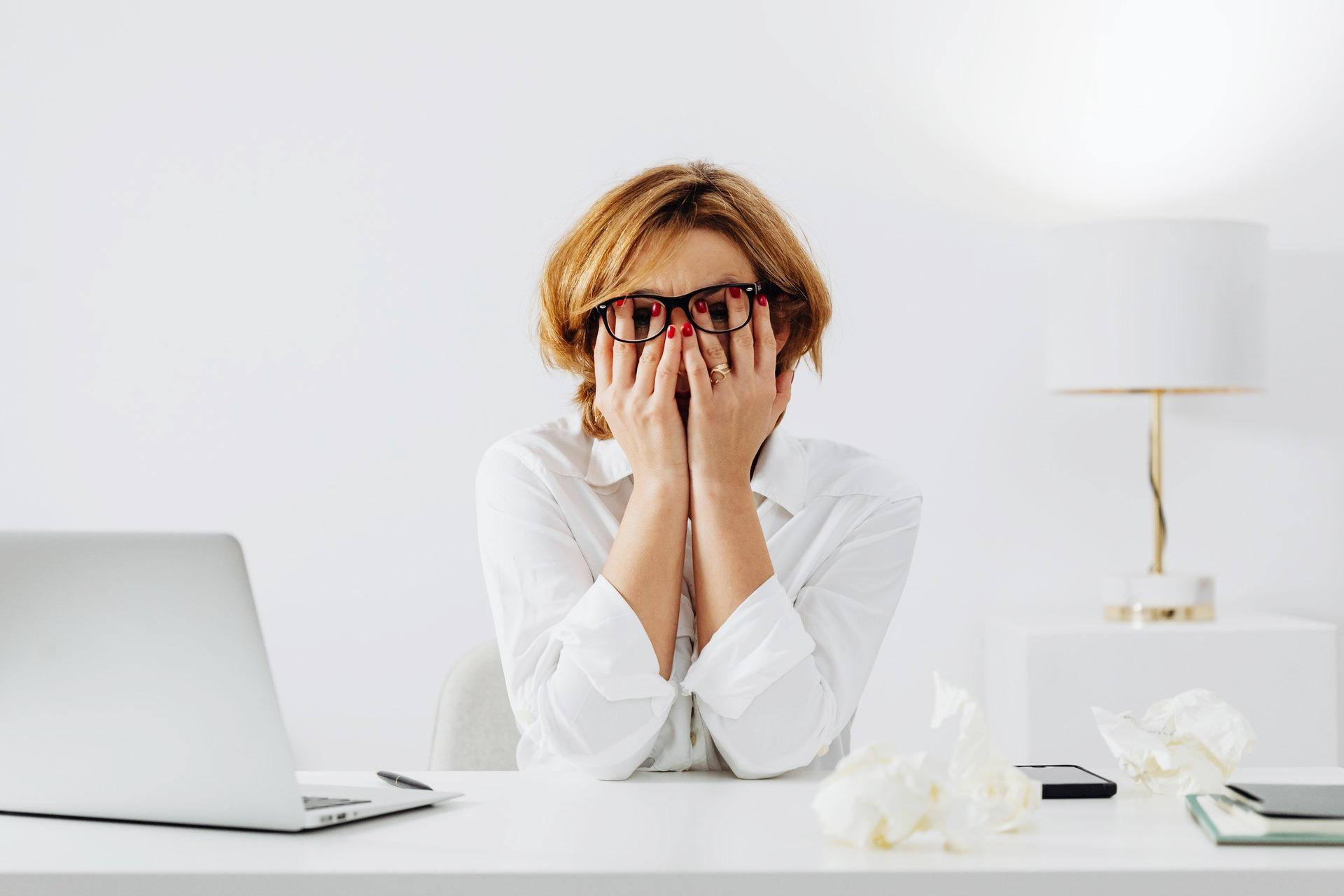 Psychosomatic symptoms of stress