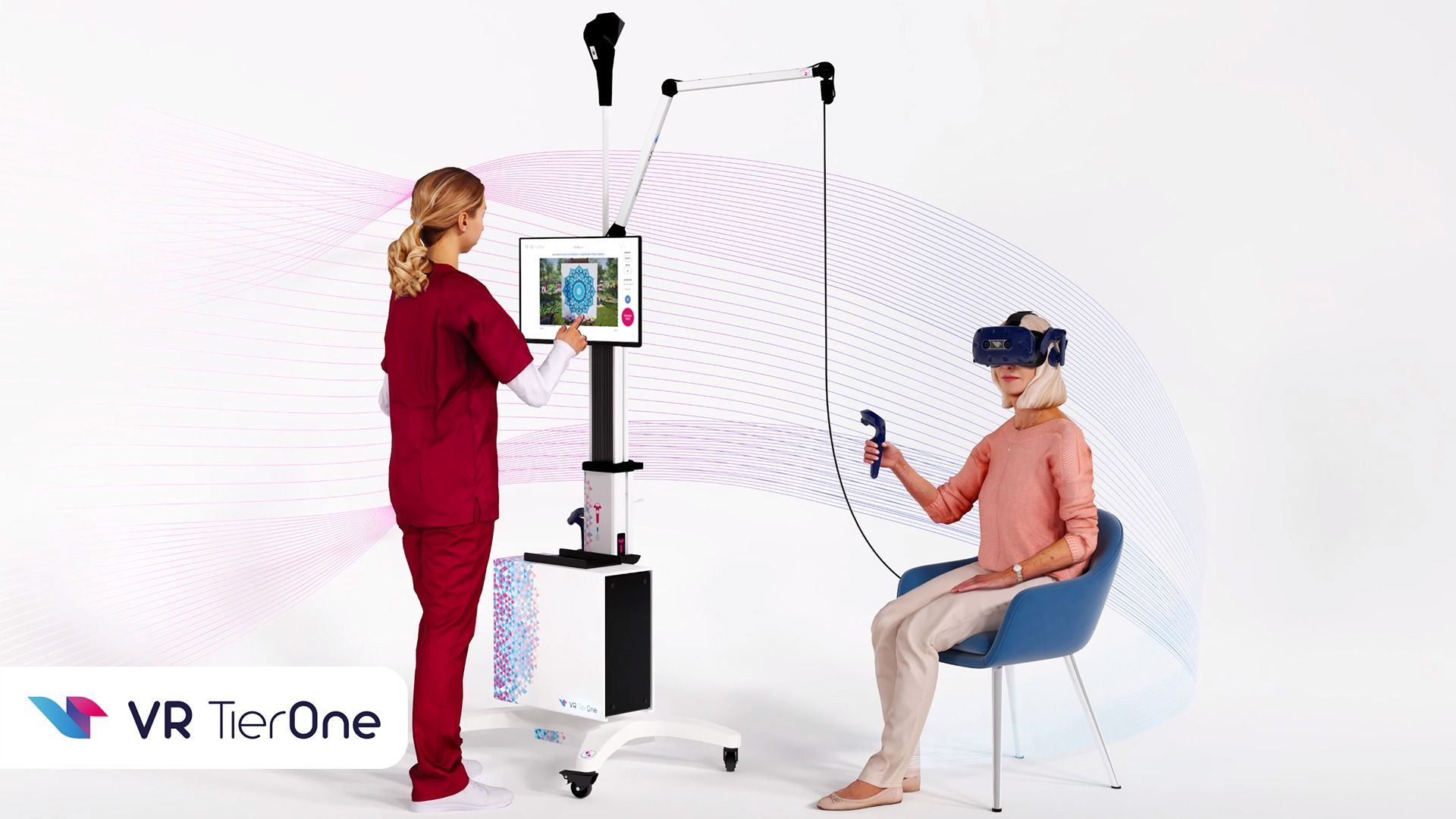 VR TierOne in the eyes of the patient and medical staff